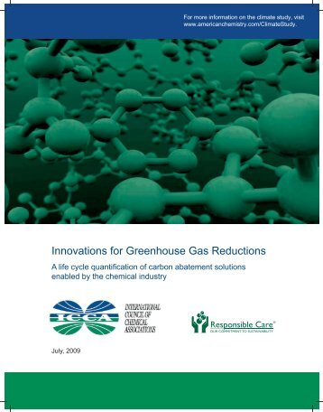 Innovations for Greenhouse Gas Reductions - American Chemistry ...
