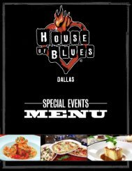 Download Menu - Live Nation Special Events