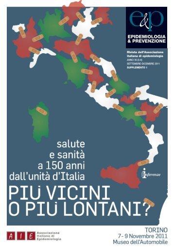 Atti del congresso - Associazione Italiana Epidemiologia