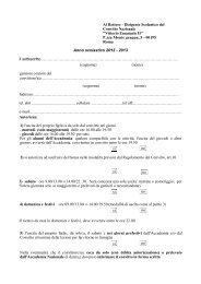 Modulistica allegata - Convitto Nazionale Vittorio Emanuele II