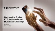 Solving the Global LTE Multimode and Multiband ... - Qualcomm