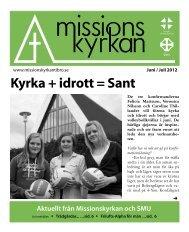 Kyrka + idrott = Sant - Missionskyrkan Tibro