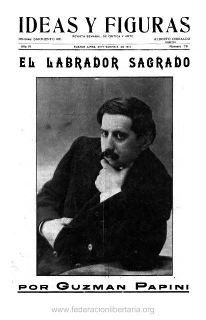 1912, septiembre. Año IV, nº 78. - Federación Libertaria Argentina