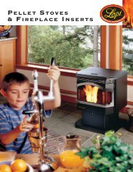 Pellet Stoves & Fireplace Inserts - Lisac's Fireplaces & Stoves