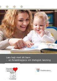 Dialogisk læsning - Haderslev Kommunale Dagpleje