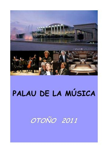 La música del Palau de les Arts - gva