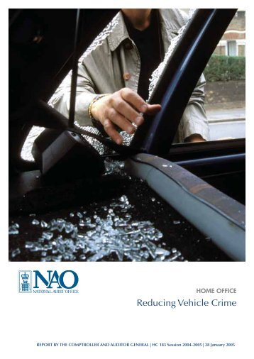 Vehicle Crime Review 2005 - AVCIS Police.UK