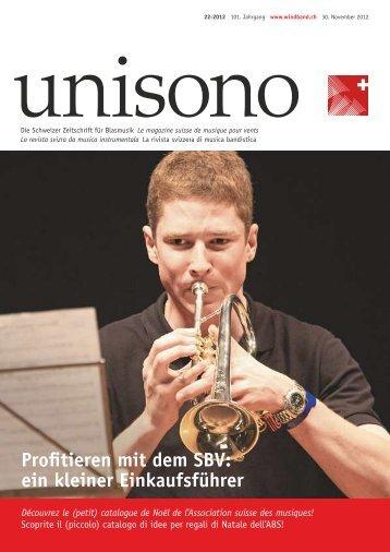 ein kleiner Einkaufsführer - Schweizer Blasmusikverband