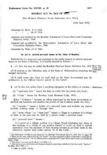 bombay stamp act 1958 pdf