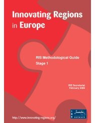 RIS Methodological Guide Stage 1