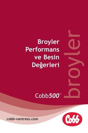Broyler Performans ve Besin Değerleri - Cobb