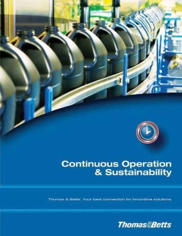 Continuous Operation & Sustainability Solutions
