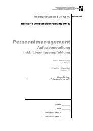 Management Personalmanagement Lösungsempfehlung / PDF