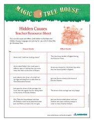 Hidden Causes - Magic Tree House