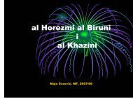 al Horezmi al Biruni i al Khazini