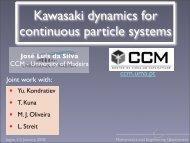 Kawasaki dynamics for continuous particle systems - Universidade ...