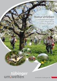 Natur erleben - im Landkreis Tübingen