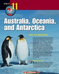 Chapter 32: The Physical Geography of Australia, Oceania, and ...