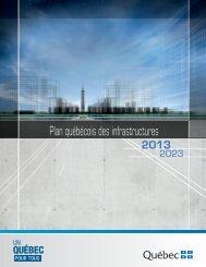 Le Plan québécois des infrastructures 2013-2023 - Secrétariat du ...