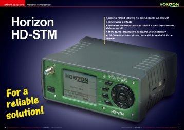 horizon - TELE-satellite International Magazine
