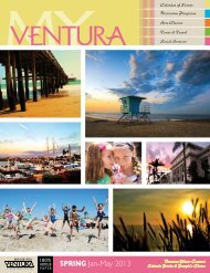 SPRING Jan-May 2013 - City Of Ventura
