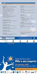 Programma degli eventi di Brindisi - Lecce - ARTI Puglia