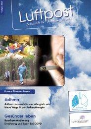 Asthma Gesünder leben - COPD - Deutschland eV