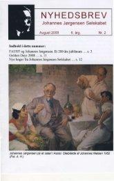 Nr. 2 - August 2008 - Johannes Jørgensen Selskabet
