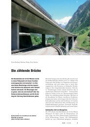 Tec21 20/06: Die zählende Brücke (pdf) - Basler & Hofmann
