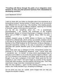 Laura Bastianelli - European Association for Transactional Analysis