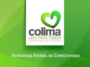 Red Estatal del Estado Colima.