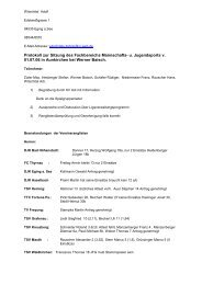 Protokoll-Sitzung 1.7.2006 - BTTV - Kreis Passau