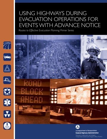 Using HigHways dUring EvacUation opErations for EvEnts - FHWA ...