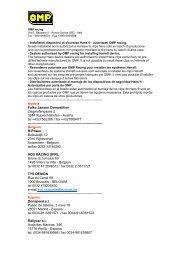 Austria Falko Jansen Competition Ziegelofengasse 2 ... - TKS-Race