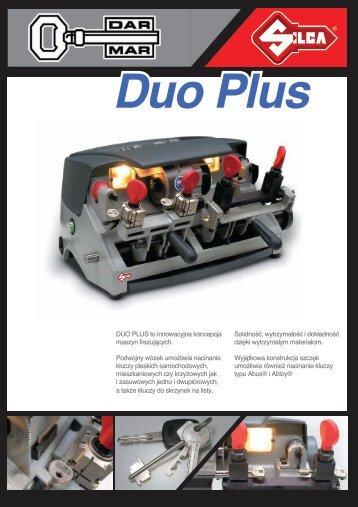 DUO PLUS to innowacyjna koncepcja maszyn frezujących ... - Dar-Mar