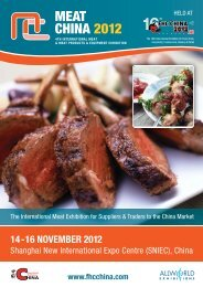 MEAT CHINA 2012 - Allworld Exhibitions