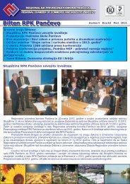 Bilten br.63 - Regionalna Privredna komora Pančevo