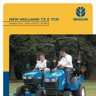 NEW HOLLAND TZ E TCD