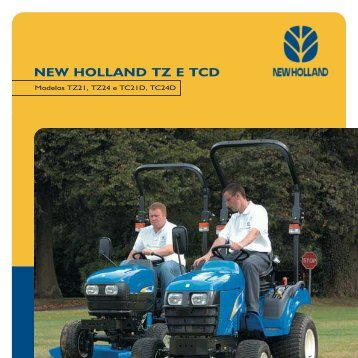 NEW HOLLAND TZ E TCD