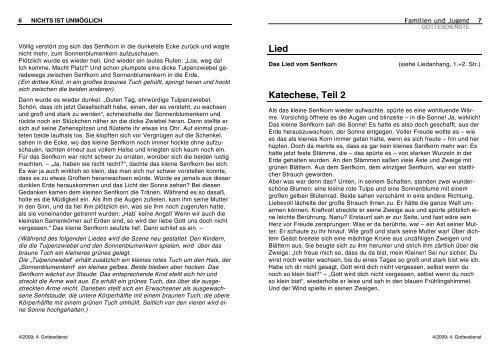 Lied Katechese, Teil 2