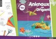 Animaux en origami - XICA loisirs