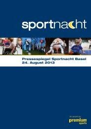 Presseberichte - Sportnacht Basel