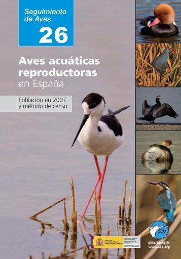 Aves acuáticas reproductoras en España - SEO/BirdLife