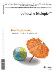 Geschichte des Geo-Engineering - Global Governance of CLIMATE ...