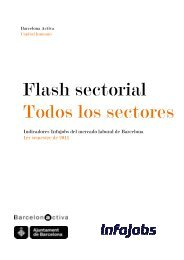 Flash sectorial Todos los sectores - Barcelona Activa