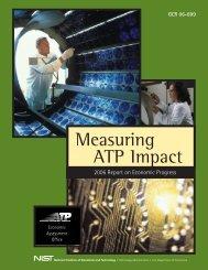 Measuring ATP Impact - NIST Advanced Technology Program ...