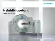 PET/CT - AG Physik und Technik in der bildgebenden Diagnostik
