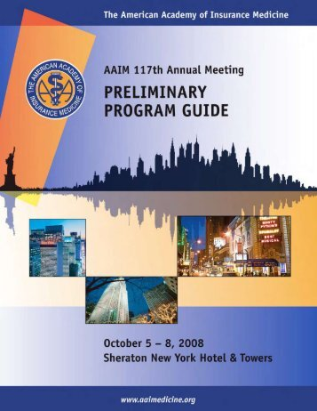 please join us in new york for the aaim 2008 annual meeting!