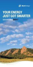 Your Energy Just Got Smarter Brochure - SmartGridCity - Xcel Energy