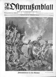 Johannisfeuer in der Heimat - Archiv Preussische Allgemeine Zeitung